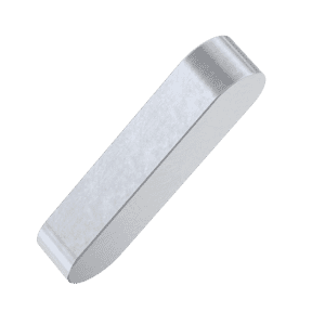 8mm x 7mm x 22mm Parallel Keys (DIN 6885A) - Marine Stainless Steel (A4)