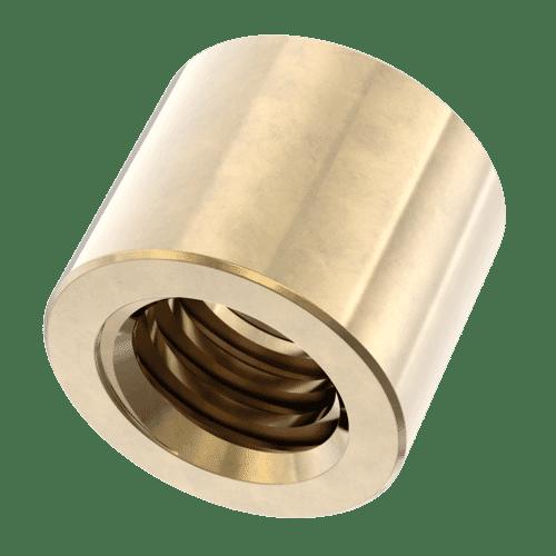 Bronze Zylindrische Trapezgewindemuttern