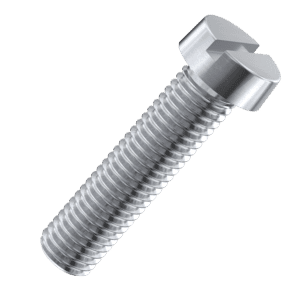 M4 x 8mm Cheese Head Screws (DIN 84) - Stainless Steel (A2)