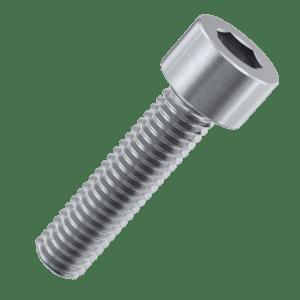 M4 x 10mm Full Thread Cap Head Screws (DIN 912) - Marine Stainless Steel (A4)