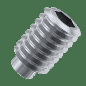 M10 x 25mm Dog Point Set / Grub Screws (DIN 915) - Stainless Steel (A2)