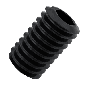 M3 x 4mm Flat Point Set / Grub Screws (DIN 913) - 14.9 Hardened Steel