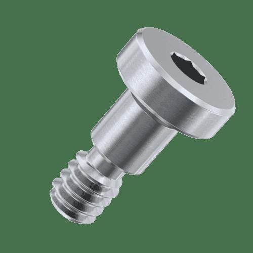 2-56 (3/32 inch) x 1/4 inch Low Head Socket Shoulder Screws - Stainless Steel (A2)