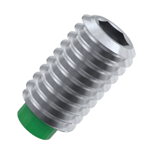 M5 x 11mm Nylon Tip Set Screws / Grub Screws - Stainless Steel / Nylon Insert
