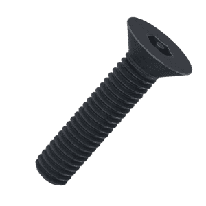 M8 x 20mm Security Socket Countersunk Screws (DIN 7991) - Black Stainless Steel (A2)