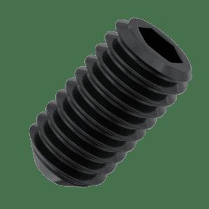 M8 x 12mm Cup Point Set / Grub Screws (DIN 916) - 14.9 Hardened Steel