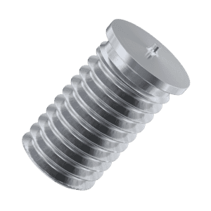M6 x 25mm Threaded Weld Studs (ISO 13918) - Stainless Steel (A2)