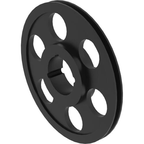 500mm Diameter x 1 Groove, SPA Type Taper Bore Vee Pulleys - SPA500/1