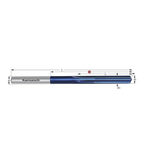 11.98mm Spiral Machine Reamers - Carbide (Karnasch 221490)