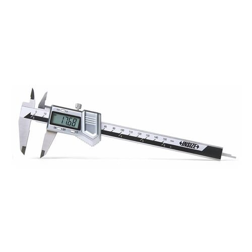 150mm [+/-0.03mm] Digital Calipers With Zinc Alloy Housing (Insize 1114)