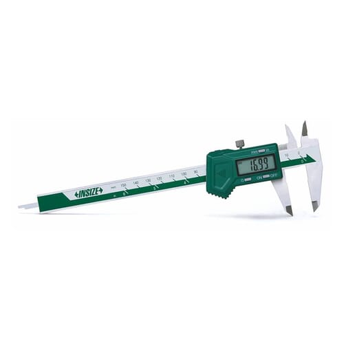 300mm [+/-0.03mm] Left Hand Digital Calipers (Insize 1130) - UKAS Calibrated