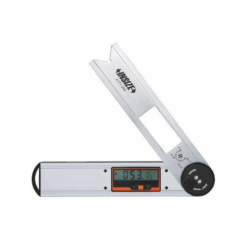 0 - 360 Degrees [+/-0.15 Degrees] 250mm Digital Protractor (Insize 2171)