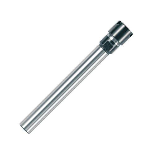 0.50mm-7mm ER11 Straight Shank Mini Nut Collet Chucks - 10mm x 100mm Shank