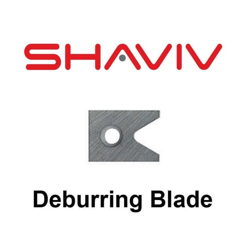 D82C Deburring Blade (D Type) - Solid Carbide