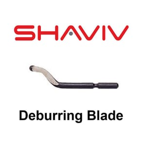 E100 Deburring Blade (E Type) - HSS