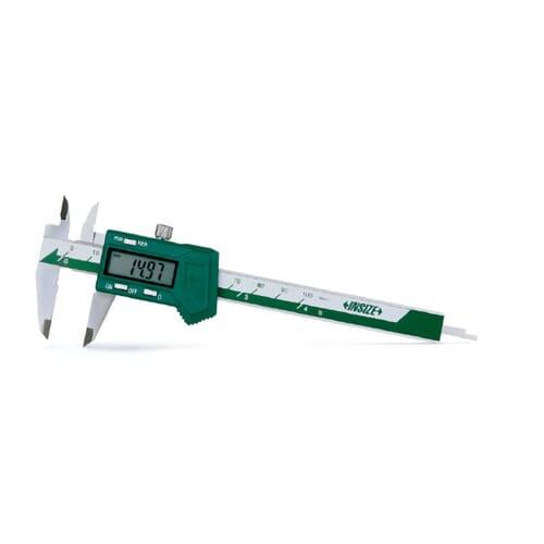 100mm [+/-0.20mm] Mini Digital Calipers (Insize 1111) - UKAS Calibrated