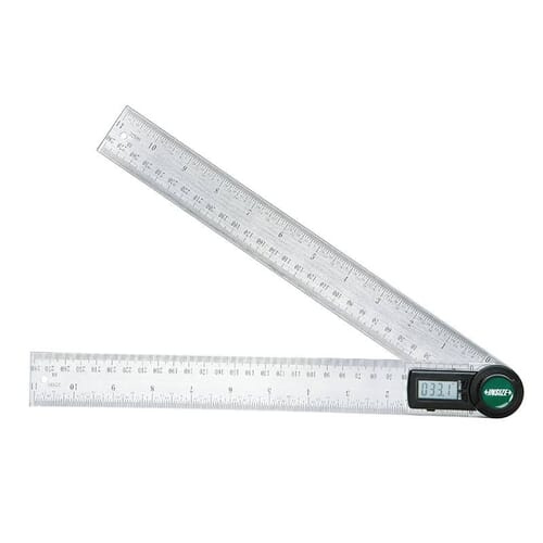 0 - 360 Degrees [+/-0.3 Degrees] 200mm Digital Protractor (Insize 2176)