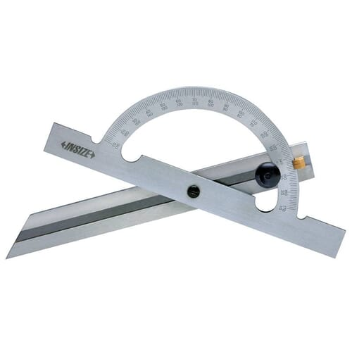 0 - 180 Degrees [+/-0.3 Degrees] 100mm x 150mm Analogue Protractor (Insize 4797)