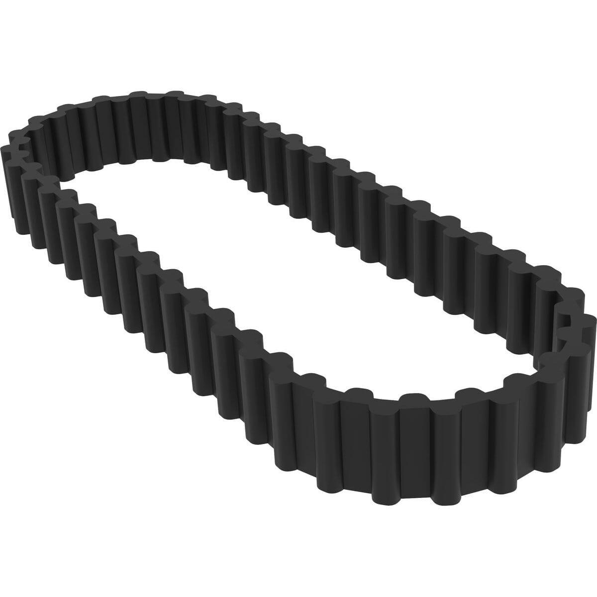 384 mm Length Rubber D/&D PowerDrive 384-8M-25 Timing Belt