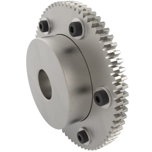Backlash Control Spur Gears