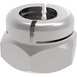 M5 Aerotight Locking Nuts - Marine Stainless Steel (A4)
