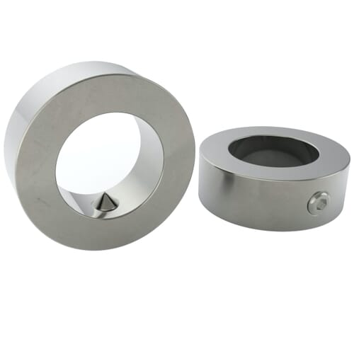 22mm Adjusting Ring (DIN 705A) - Stainless Steel (A2) - Set Screw Included