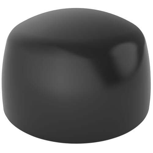 14.8mm x 16.6mm , Type 2 Cover Caps - Black Nylon