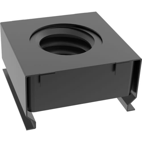 M6 Cage Nuts - Black Stainless Steel (A2)