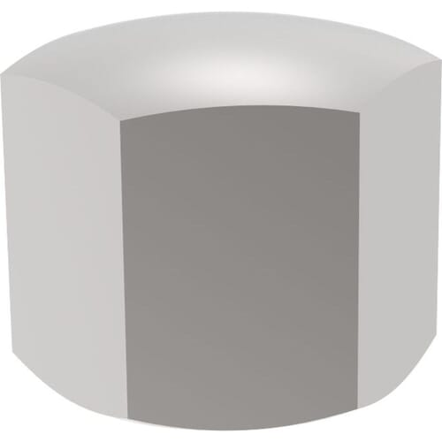 M3 Cap Nuts (DIN 917) - Stainless Steel (A2)