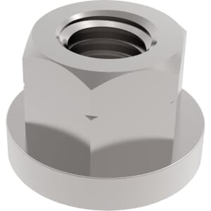 M8 Collar Nuts - Stainless Steel (A2)