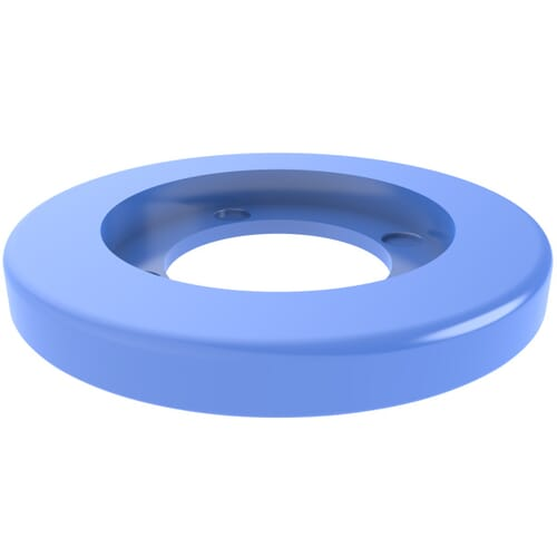 18.2mm x 2.1mm Coloured Assembly Clip Washers - Blue Nylon