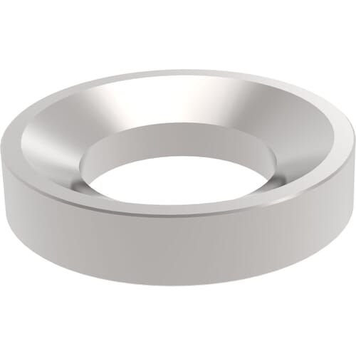 M8 Conical Seat Washers (DIN 6319D) - Stainless Steel (A2)