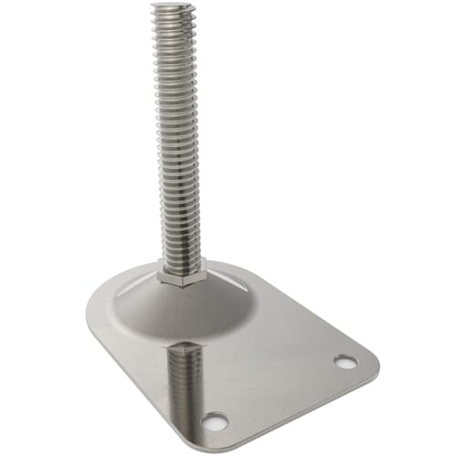 Steel Bolt Down Duck Feet
