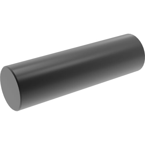 3/16 (m6) x 3/8 inch Dowel Pins (ANSI B18.8.2) - Black A1 Stainless Steel