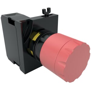 30mm IP65 Emergency Buttons, Pull To Release (V5) - Red Polyamide