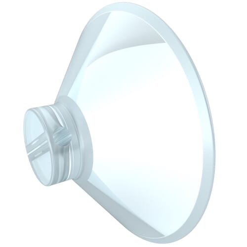 55mm x 22mm Suction Pads - Style 1 Clear PVC