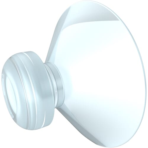 35mm x 12.5mm Suction Pads - Style 2 Clear PVC