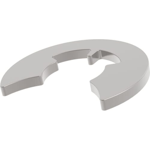 4mm x 3.34mm E Clips (DIN 6799) - Stainless Steel