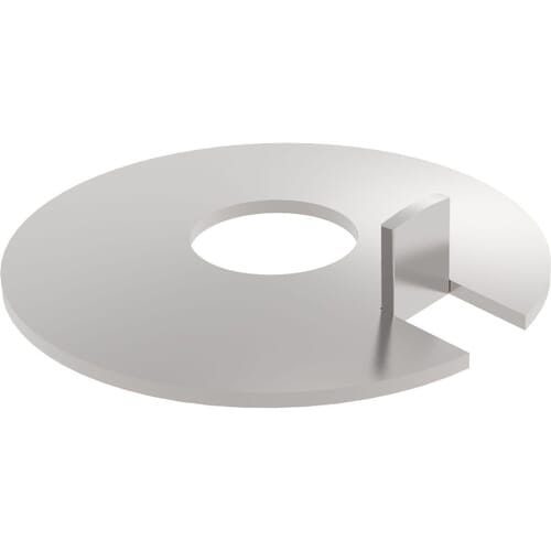 M8 Single External Tab Washers (DIN 432) - Marine Stainless Steel (A4)