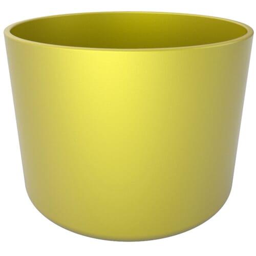 1150mm x 350mm Flexible Pipe Caps - Yellow Polyethylene