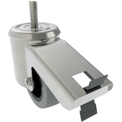 Industrial Castors With Threaded Stem