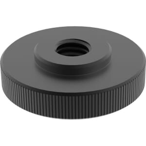 M6 Thin Thumb Nuts (DIN 467) - Black Stainless Steel (A2)