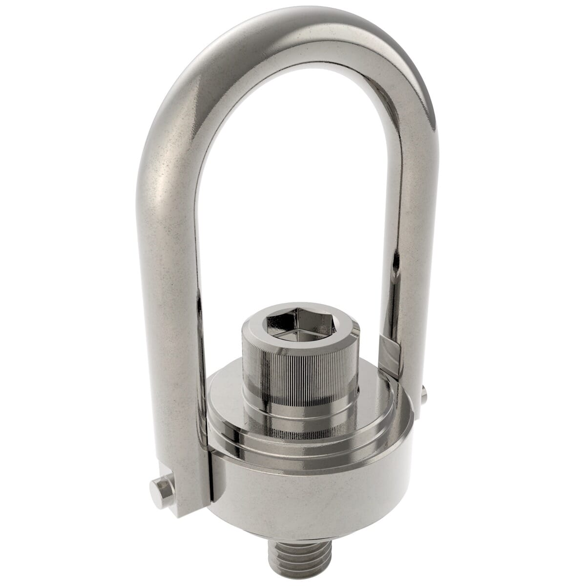 165.80mm x 121.20mm (1500kg) Safety Engineered Hoist Rings - Stainless Steel