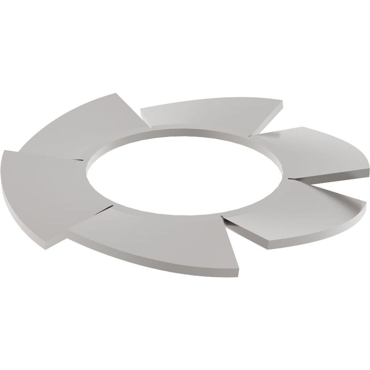 M20 External Locking Washers (DIN 6797A) - Stainless Steel (A2)