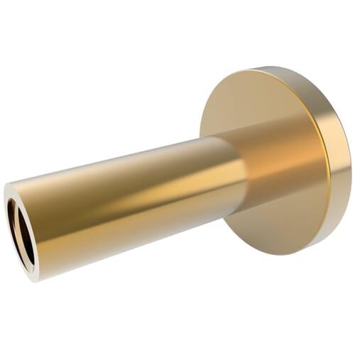 20mm Metal Binder Screws - Brass Plated Steel