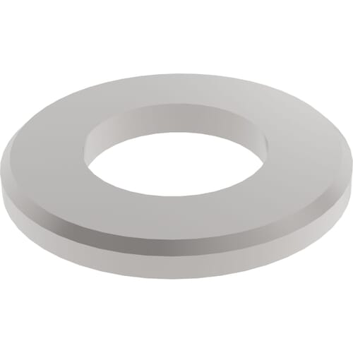 Metric Chamfered Flat Washers