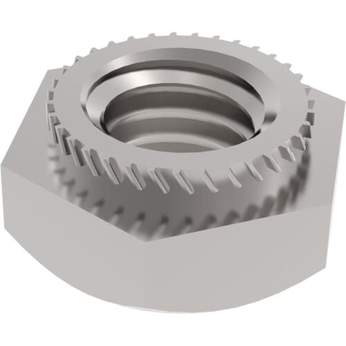 Hexagon Insert Press Nuts