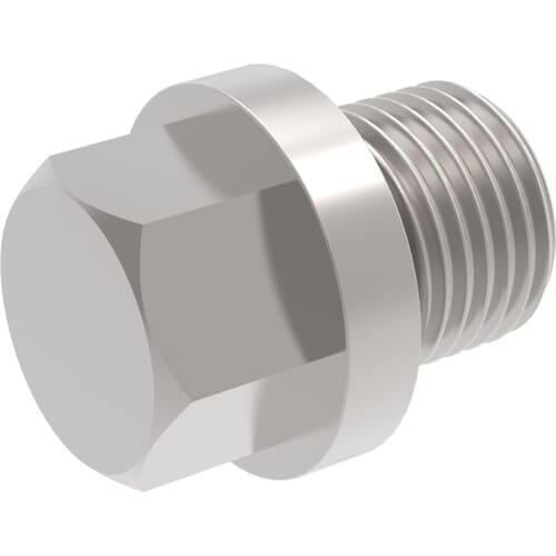 1.1/4 inch Hexagon Head Pipe Plugs (DIN 910) - Marine Stainless Steel (A4)