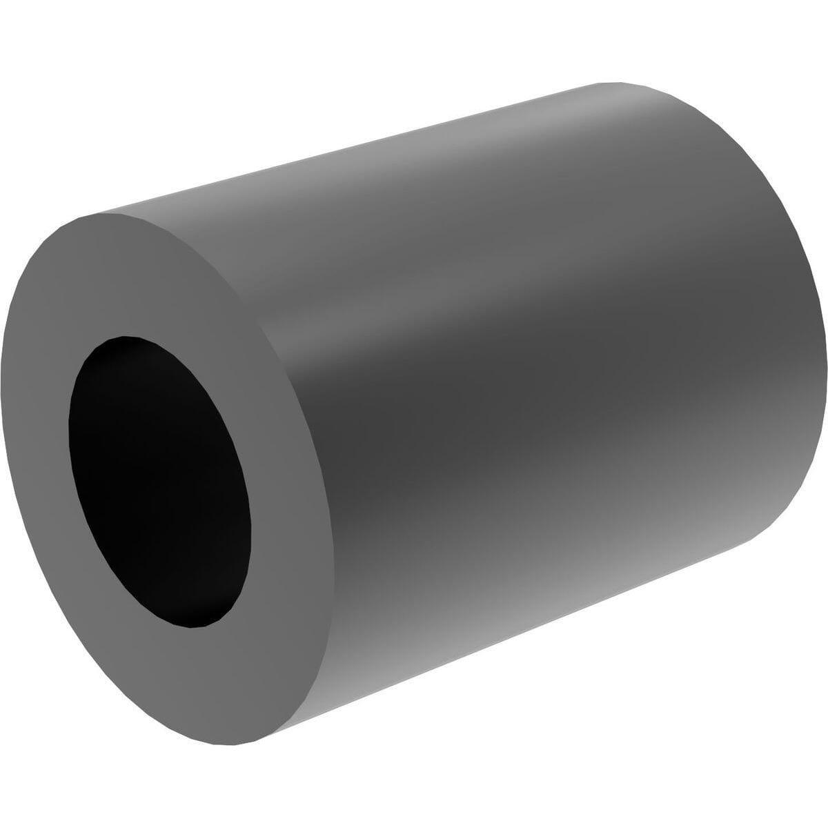 10mm x 8.2mm x 20mm Spacers - Black Nylon