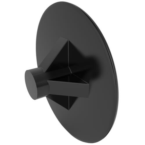 2mm x 12mm Pozidrive Screw Caps - LDPE Black/9005